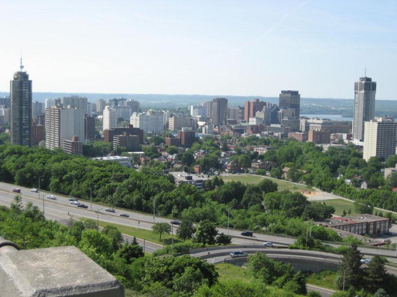 Hamilton Ontario Skyline
