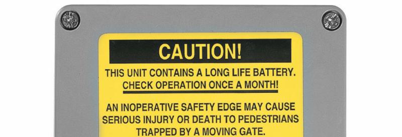 gate won't open edge transmitter issue