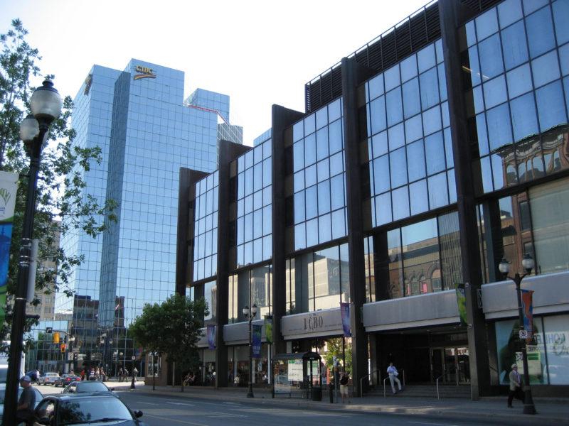 Jackson Square in Hamilton Ontario